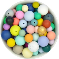 Simply Rounds Silicone Bead Mystery Pack
