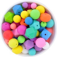 Silicone Bead Mystery Pack - Rainbow Brights