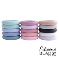 Silicone Teether - 65mm Teething Ring