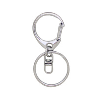 Keyring and Clip - Silver (estimated restock March 21st)