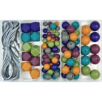 Winter Hues Silicone Bead Jewellery Kit