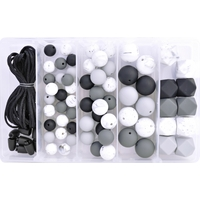 Silicone Bead Jewellery Kit - 50 Shades