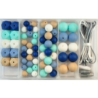 Silicone Bead Jewellery Kit - River