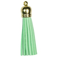 GOLD TOP Tassels - Mint