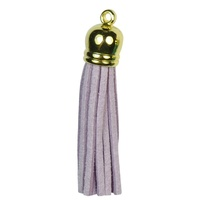 GOLD TOP Tassels - Lilac