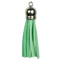 SILVER TOP Tassels - Mint
