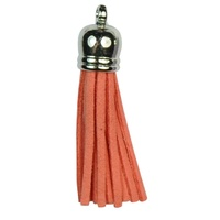 SILVER TOP Tassels - Watermelon