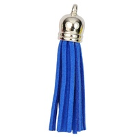 SILVER TOP Tassels - Royal Blue