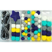 Little Dude Silicone Bead Jewellery Kit