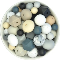 Silicone Bead Mystery Pack - Neutrals