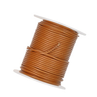 Leather Cord 1.5mm Spool - Tan