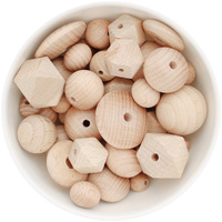 Beech Wood bead sampler pack