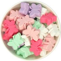 Butterfly Silicone Bead