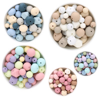 Silicone Bead Colour Block Variety Value Pack