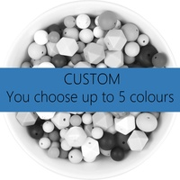 Silicone Bead Mystery Pack 1kg - Custom