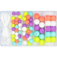 Silicone Bead Jewellery Kit - Hello Summer