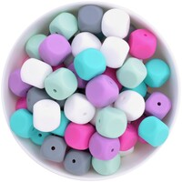 Dice Silicone Bead