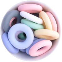 Donut Silicone Bead