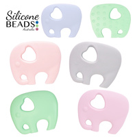 Silicone Teether - Elephant