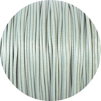 1.5mm Waxed Cord Light Grey