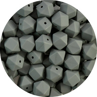 17mm Hexagon - Charcoal