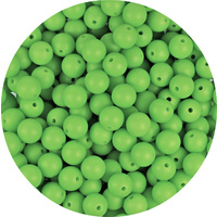 12mm Round - Lime