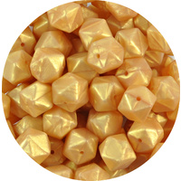 17mm Hexagon - Gold