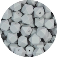 17mm Hexagon - Light Grey
