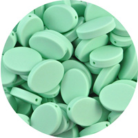 Oval Disc - Mint Green